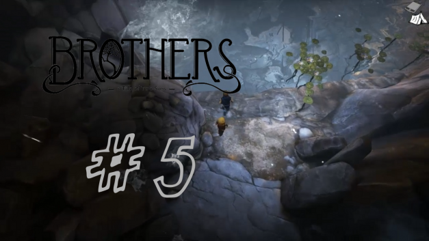 #5   Im Berg   Let's Play Brothers – A Tale of Two Sons
