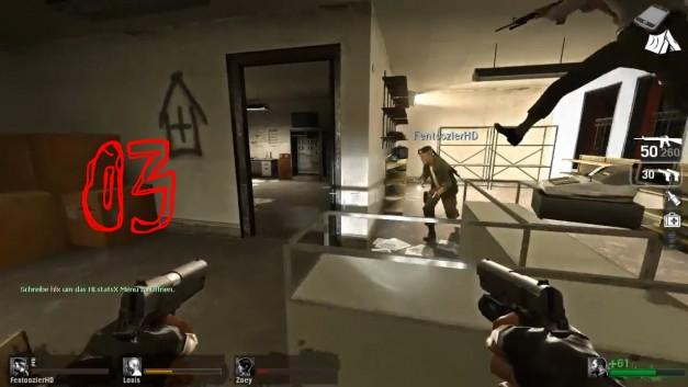 #3   Mit Facecam   Let's Play Together Left 4 Dead [Facecam]