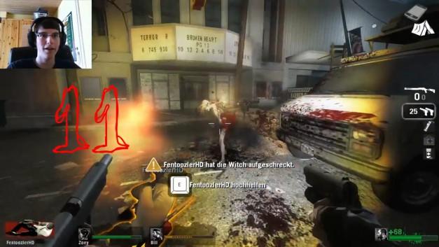 #11   Munitionsmangel   Let's Play Together Left 4 Dead [Facecam]