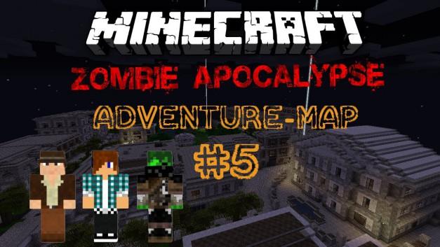 Adventure-Map: Zombie Apocalypse | Handycamp123