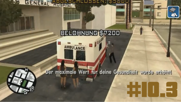 #10.3 | Krankenwagenmission | Let's Play Gta San Andreas [Deutsch | HD]