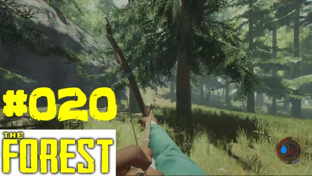 #20 | Hirsche jagen | Let's Play The Forest