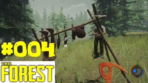 #4 | Getrocknetes Fleisch | Let's Play The Forest