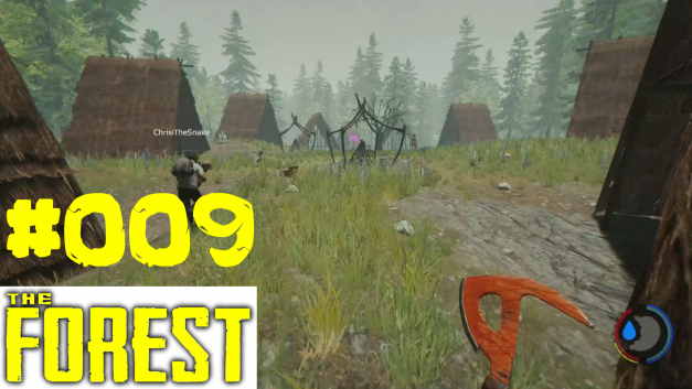 #9 | Besuch im Dorf | Let's Play The Forest