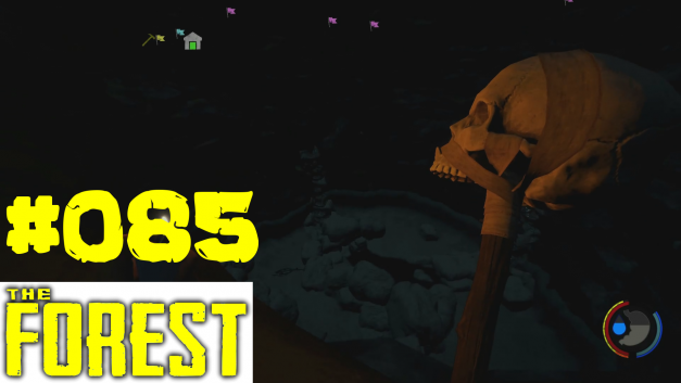 #85 | Das große Loch | Let's Play The Forest