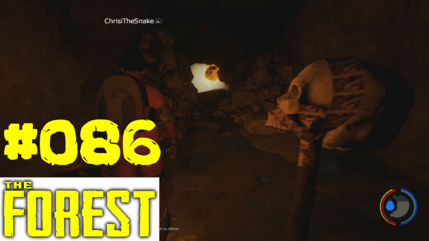 86 | Tunnel sprengen | Let's Play The Forest