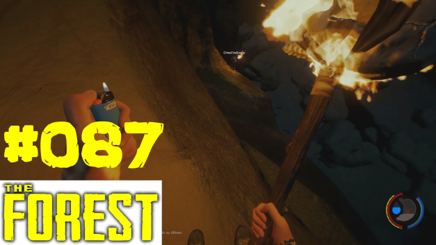 87 | Absteigen ins Loch | Let's Play The Forest