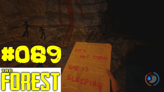 89 | She is sleeping | Let's Play The Forest