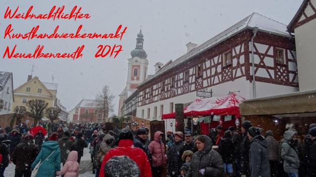 Weihnachtlicher Kunsthandwerkermarkt – Marktgemeinde Neualbenreuth – 2017