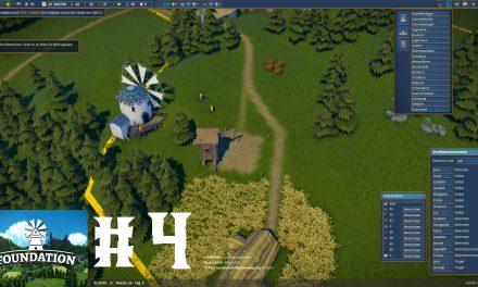 #4 | Weizenfarm und Windmühlen | Let's Play Foundation