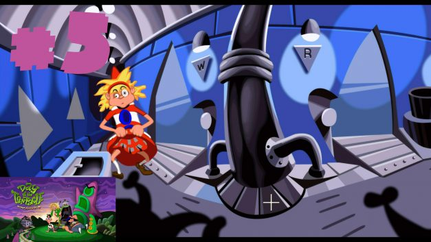 #5 | 1. Obergeschoss auschecken | Let's Play Day of the Tentacle Remastered