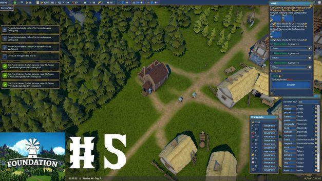 #5 | Herrenhaus weiter ausbauen | Let's Play Foundation