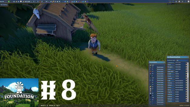 #8 | Jäger bei der Arbeit | Let's Play Foundation