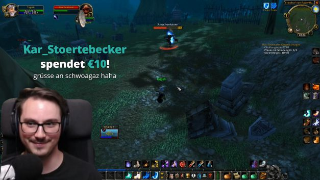 Donations, Twitch-Prime und Youtube Einnahmen | WoW Classic | Stream Highlight