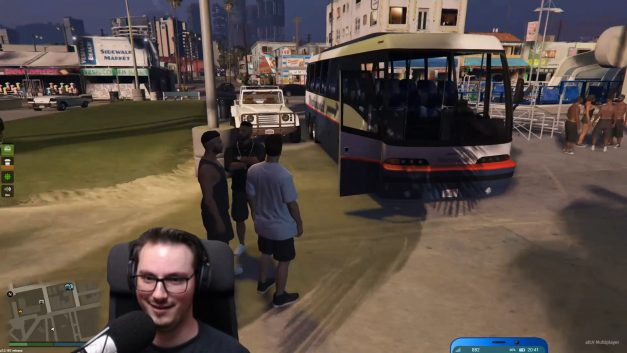 Gestohlenen Bus abgekauft | GTA-RP Dirty-Gaming | Stream Highlight