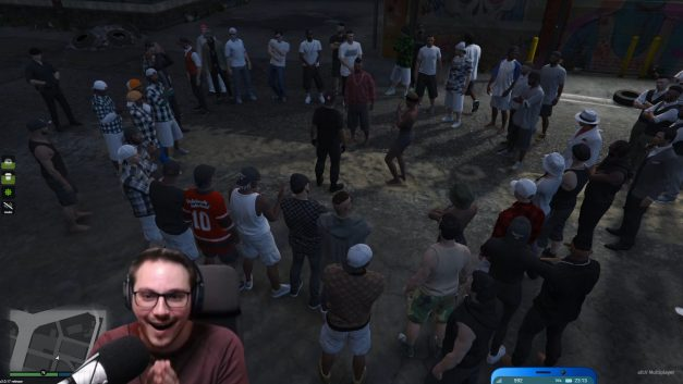 Rap-Battle auf Dirty-Gaming | GTA-RP | Stream Highlight