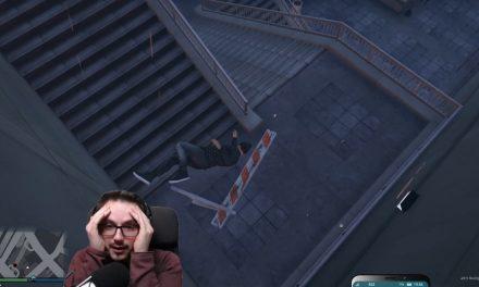 Tödlicher Sturz von der Treppe | GTA-RP Dirty-Gaming | Stream Highlight