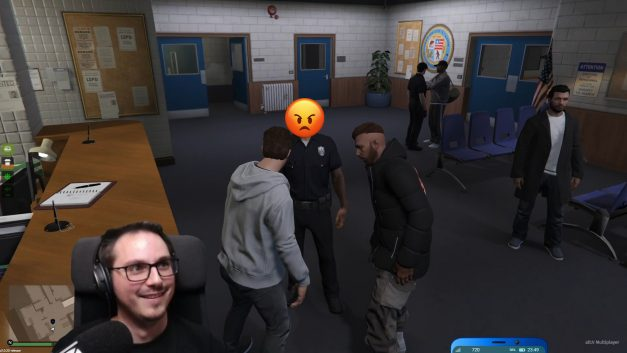 Praktikum bei der Polizei? | GTA-RP Dirty-Gaming | Stream Highlight
