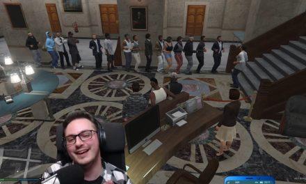 Tanzende Warteschlange | GTA-RP Dirty-Gaming | Stream Highlight