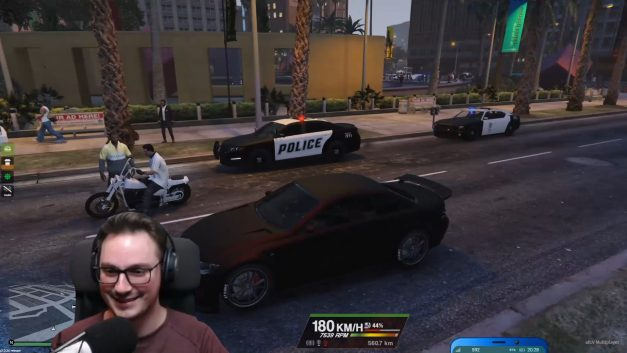Illegales Straßenrennen | GTA-RP Dirty-Gaming | Stream Highlight
