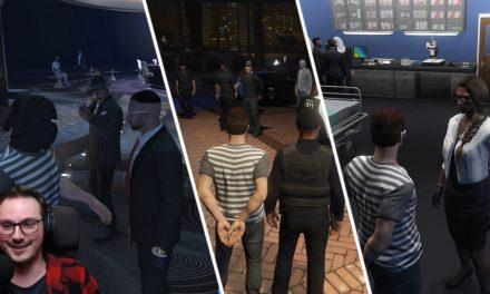 Casino gestürmt + Festnahme + Entlassung nach Verhandlung | GTA-RP Dirty-Gaming | Stream Highlight