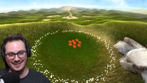 Ist Flower ähnlich wie Dark Souls? Anspielungen auf Word of Warcraft?